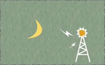 月とみのりアンテナ