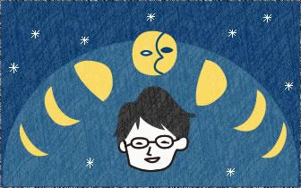 編集長コツキが綴る「月の裏から」