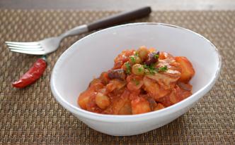 減塩にも、肌荒れにも◎トマト煮込みで時短キッチン!