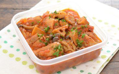 チキンと根菜の味噌トマト煮