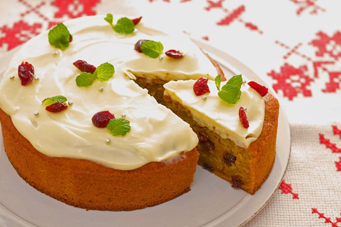 ジンジャーキャロットケーキ