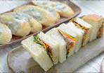 自家製ベーコンと夏野菜のサンドイッチ