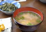 野菜+昆布だしのお味噌汁