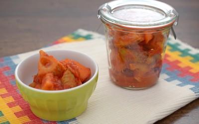 作り置き根菜ラタトゥイユ
