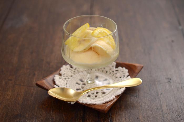 生姜バナナレモンシロップ