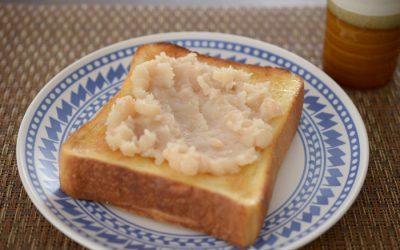 手作り白あんトースト