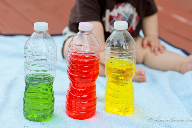 colored bottles 13