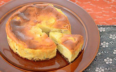 さつまいも生姜チーズケーキ